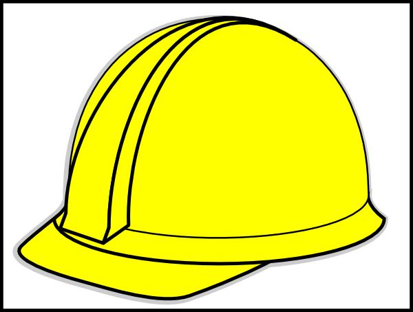 yellow hard hat clipart - photo #7