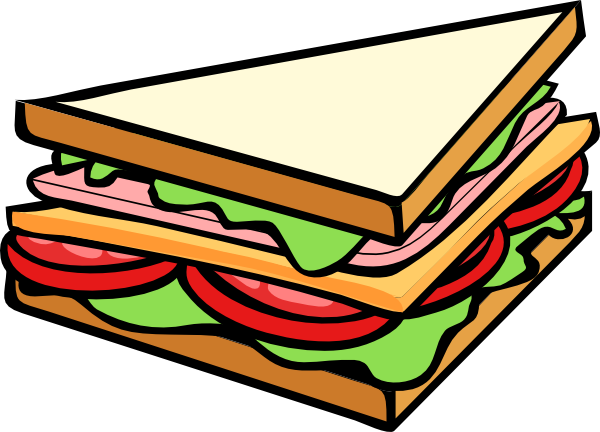 sandwich half clip art at clker com vector clip art online rh clker com sandwich clip art black and white clipart soup and sandwich