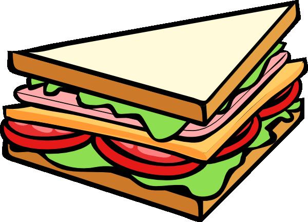 sandwich half clip art at clker com vector clip art online rh clker com sandwich clipart panda sandwich clip art free
