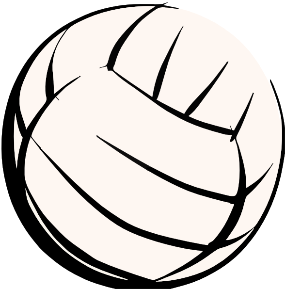 volleyball clipart vector-#2