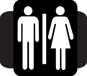 Toilet Gents / Ladies Clip Art
