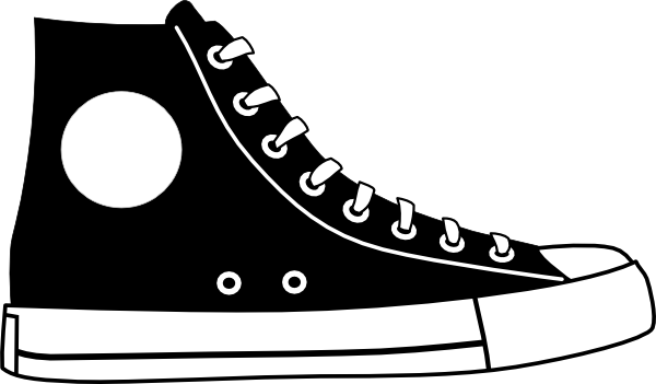 converse shoes cartoon