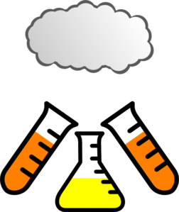 Chemistry Explosion Clip Art