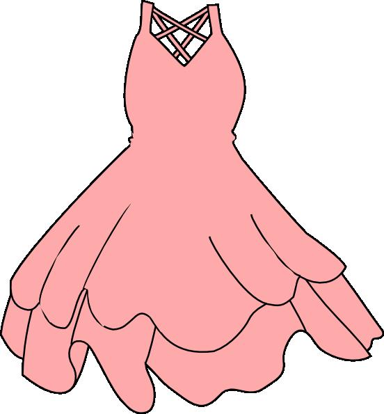 Pink Dress Clip Art at Clker.com - vector clip art online ...
