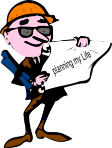 Planning My Life Clip Art