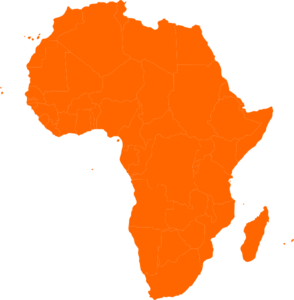 African Continent Clip Art