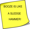 Booze Is Clip Art