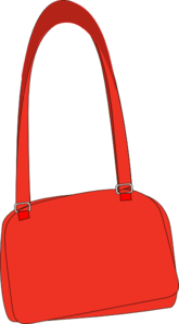 Long Strap Purse Clip Art