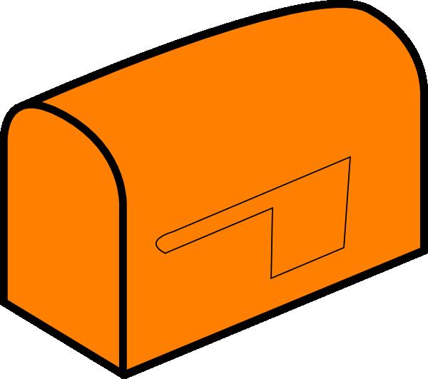 orange mailbox clip art at clker com vector clip art online rh clker com Cute Mailbox Clip Art Vintage Valentine Clip Art