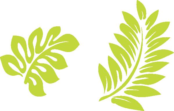 Hibiscus Leaves Clip Art At Clkercom Vector Clip Art Online