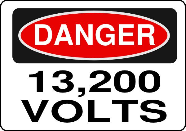 Danger Clipart Sign clip art - vector clip