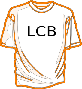 Shirts-orange Clip Art