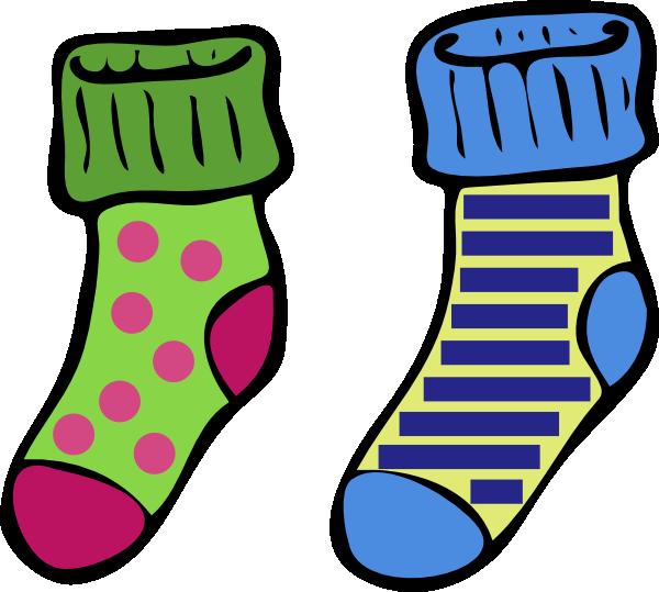 Socks2 Clip Art at Clker.com - vector clip art online, royalty free ...