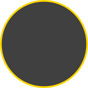 Dark Gray Circle Clip Art