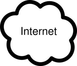 Internet-cloud Clip Art