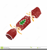 Christmas Cracker Clipart Image