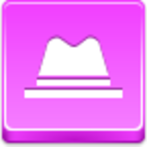Free Pink Button Hat Image