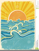 Sea Wave Clipart Image