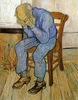 Vincent Van Gogh Old Man In Sorrow On The Threshold Of Eternity Image