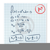 Math Test Clipart Image