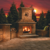 Outdoor Fireplace Kits Image