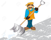 Clipart Man With Shovel Image