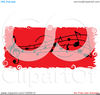 White Music Notes Clipart Image