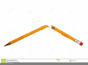 Horizontal Pencil Clipart Image