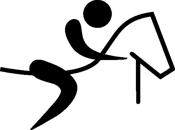 Olympic Equestrian Logo Clip Art At Clker Com Vector