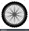 Bicycle Wheel Clipart Image