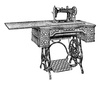 Antique Sewing Machine Image