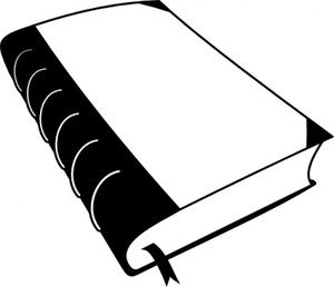 Old Book Clip Art Image