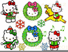 Christmas Clipart Hello Kitty Image