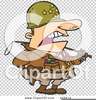 Military General Clipart Image