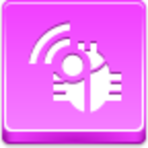 Free Pink Button Radio Bug Image