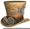 Steampunk Goggles Clipart Image