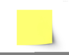 Free Clipart Sticky Note Image
