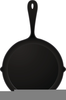 Free Clipart Skillet Image