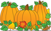 Pumpkin Clipart Free Black And White Image