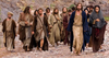 Jesus Teaching Disciples Clipart Image