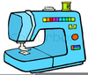 Sewing Machines Clipart Image