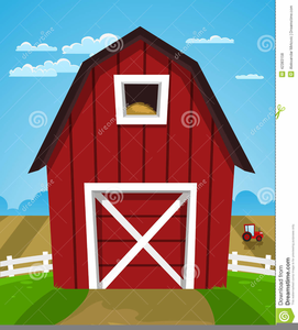 Animated Barns Clipart Image