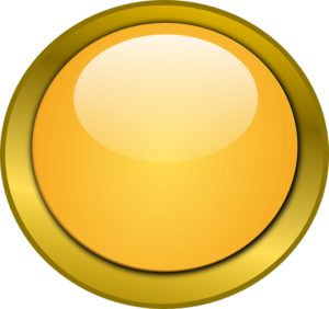 Orange Round Button 1 Clip Art