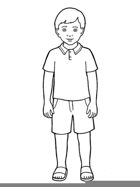 coloring pages for big boys | Lds Boy Girl Clipart | Free Images at Clker.com - vector ...