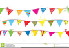 Us Flag Bunting Clipart Image