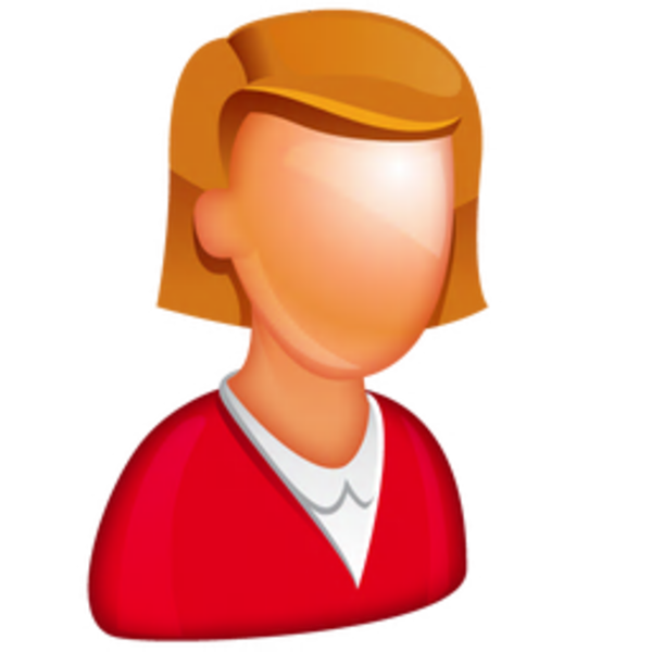 Caucasian Female Boss Icon | Free Images at Clker.com ...