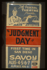 The Federal Theatre Presents Elmer Rice S  Judgement Day  First Time In San Diego. Image