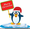 Penguin Clipart Black And White Free Image