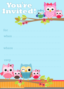 Free Clipart Party Invitations Image
