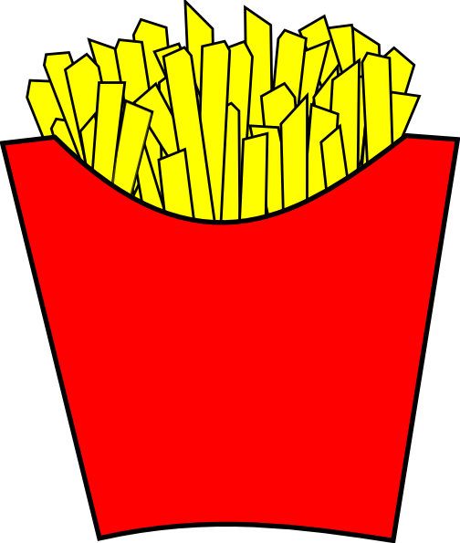 Animated french fries - photo#12